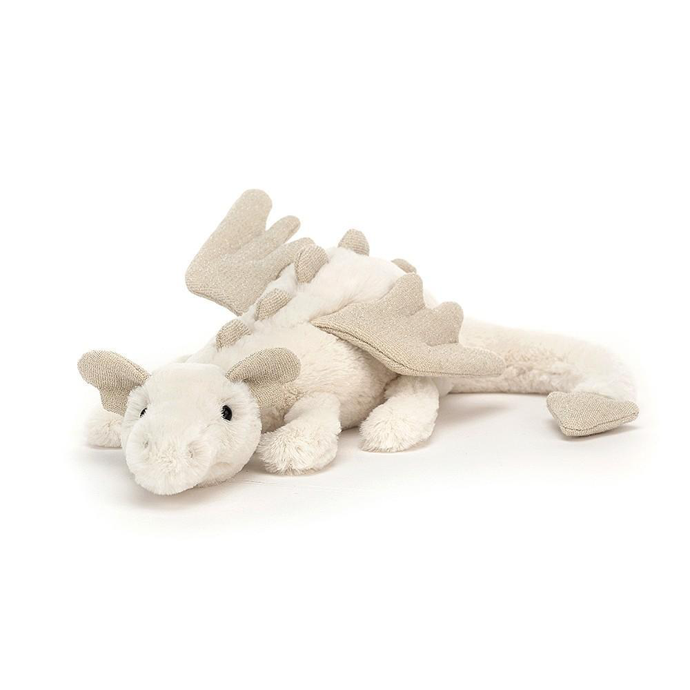 JellyCat Jelly Cat Snow Dragon Little