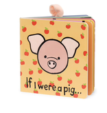 JellyCat Jelly Cat If I Were A Pig Book
