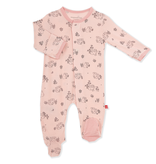 Magnificent Baby Magnetic Me Koala Cuddles Modal Footie -Pink