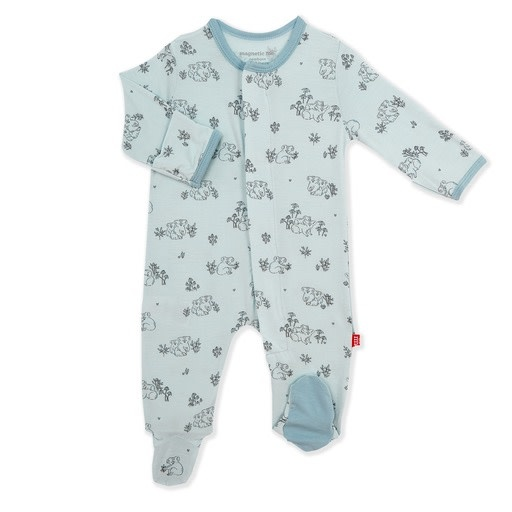 Magnificent Baby Magnetic Me Koala Cuddles Modal Footie - Blue