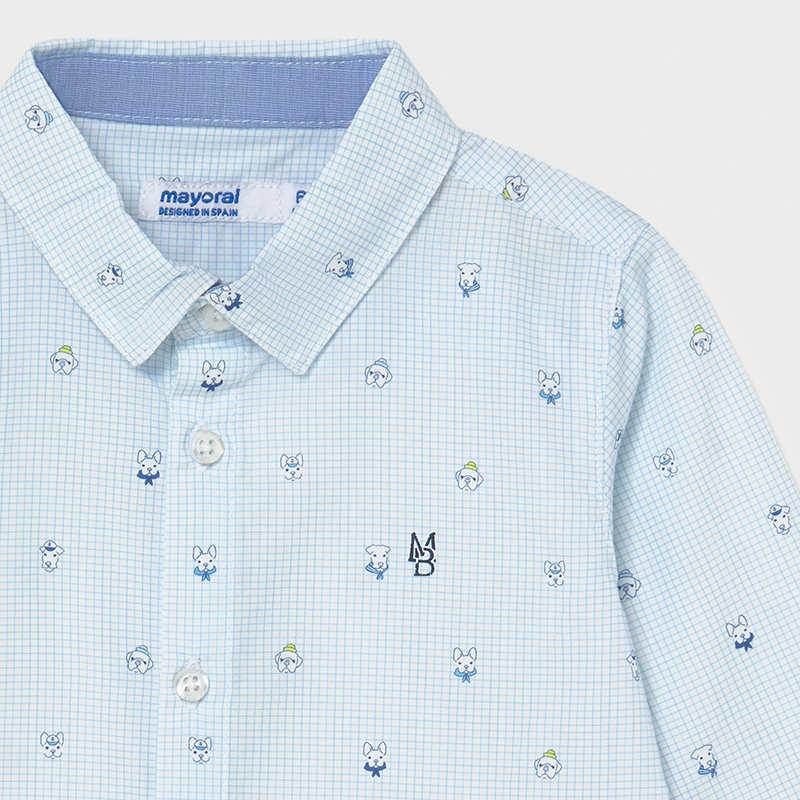Mayoral Mayoral Long Sleeve Print Shirt