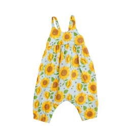 Angel Dear Angel Dear Sunflower Tie Back Romper