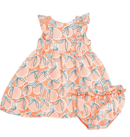 Angel Dear Angel Dear Peachy Dress and Diaper Cover