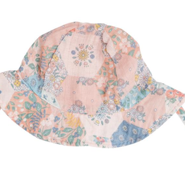 Angel Dear Angel Dear Vintage Patchwork Sunhat