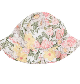 Angel Dear Angel Dear Traditional Floral Sunhat