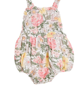 Angel Dear Angel Dear Traditional Floral Ruffle Bubble