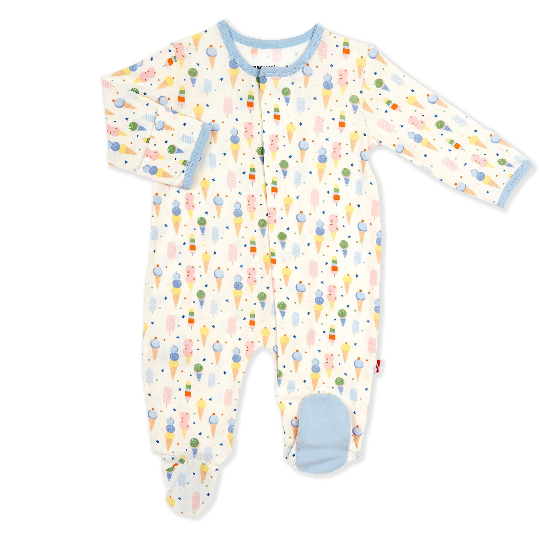Magnificent Baby Magnetic Me Ice Cream Modal Footie