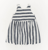 Thimble Thimble Weekend Dress in Midnight Stripe