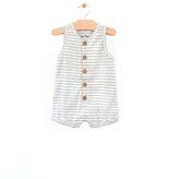 city mouse City Mouse Rib Shortie Romper