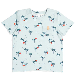 Egg Egg Palm Sunset Vincent Tee