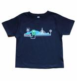 Sidetrack Sidetrack Green Line on Charles River T-Shirt