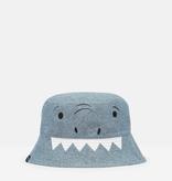 Joules Joules Britt Reversible Shark Hat