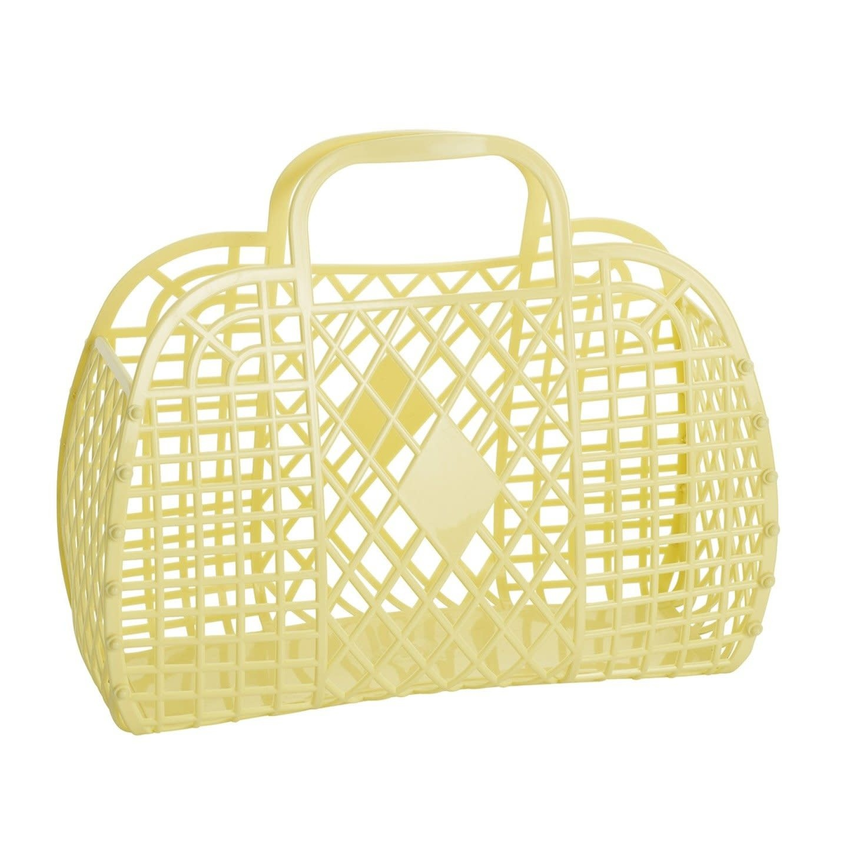 sun jellies Sunjellies Retro Basket Large *more colors*