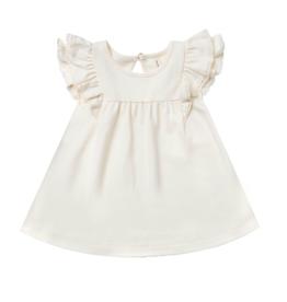 Quincy Mae Quincy Mae Organic Flutter Dress