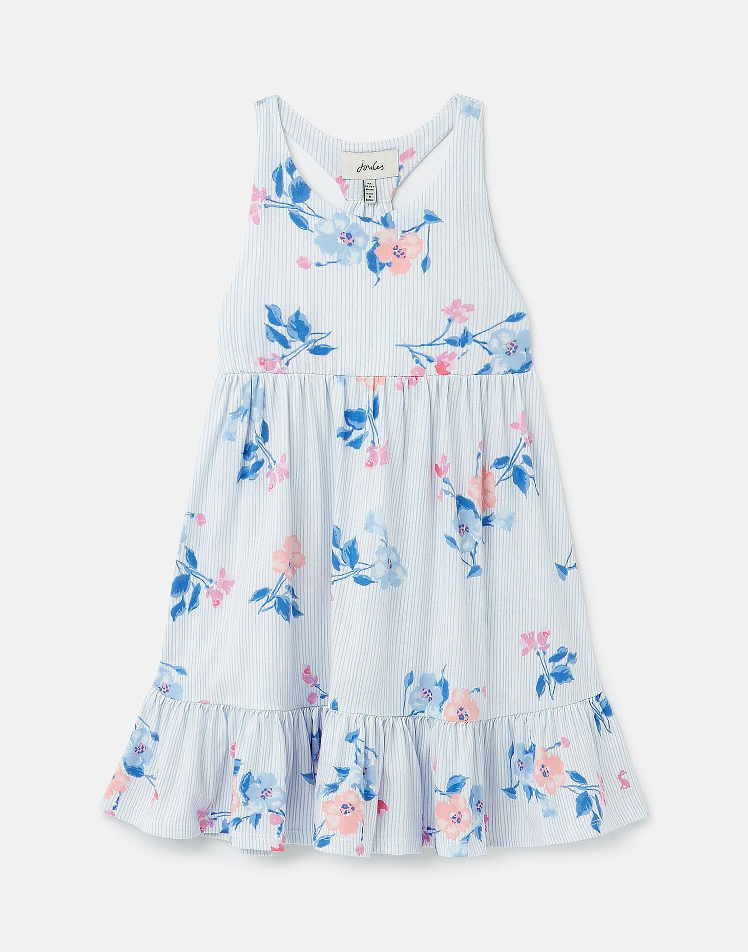 Joules Joules Juno Tiered Jersey Dress