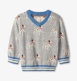 Hatley Hatley Pups V-Neck Sweater