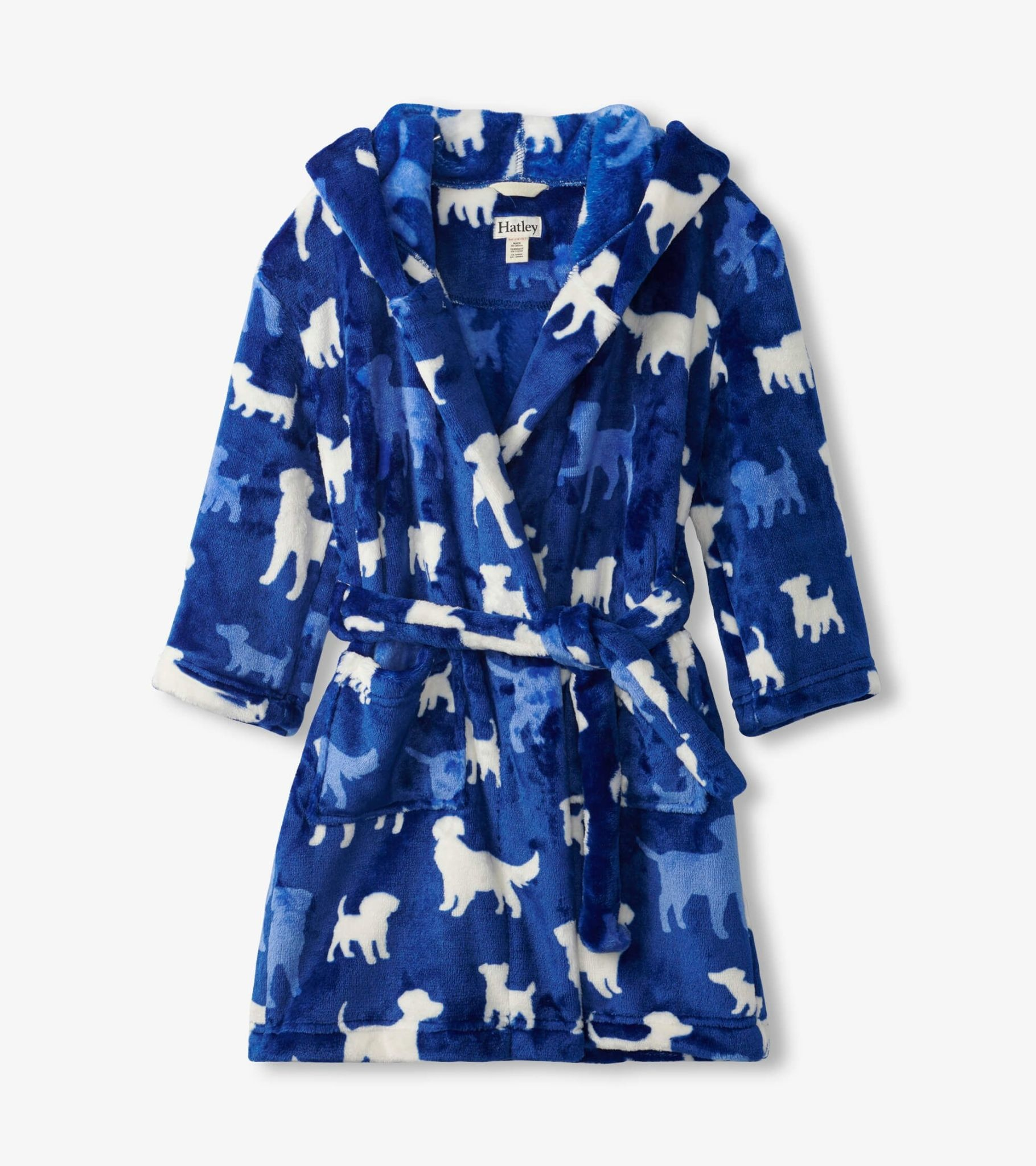 Hatley Hatley Pups Fleece Robe