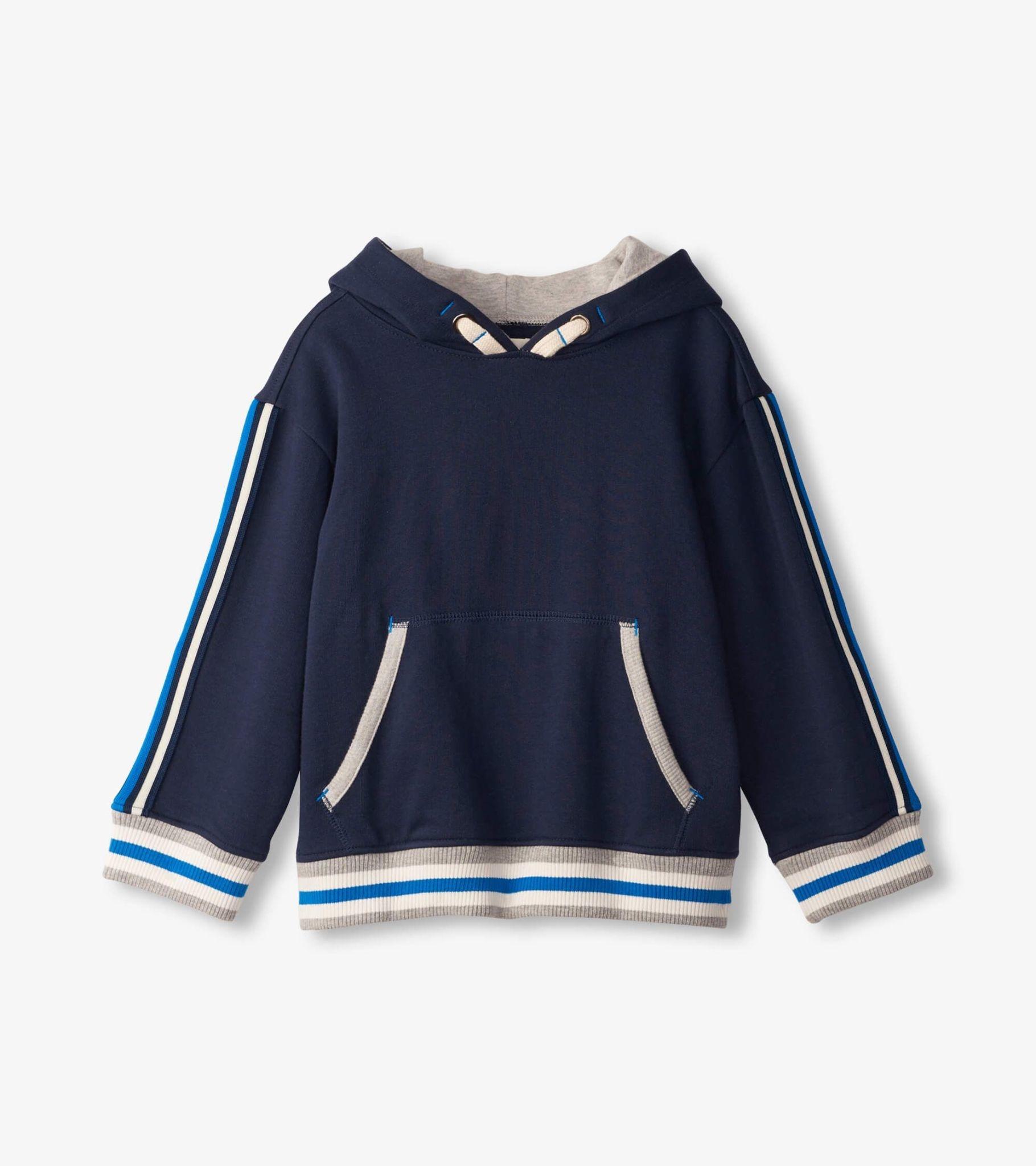 Hatley Hatley Side Stripe Pullover Hoodie