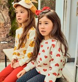 Petite Hailey Petite Hailey Heart Sweatshirt