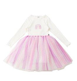 Petite Hailey Petite Hailey Rainbow Glitter Tutu Dress