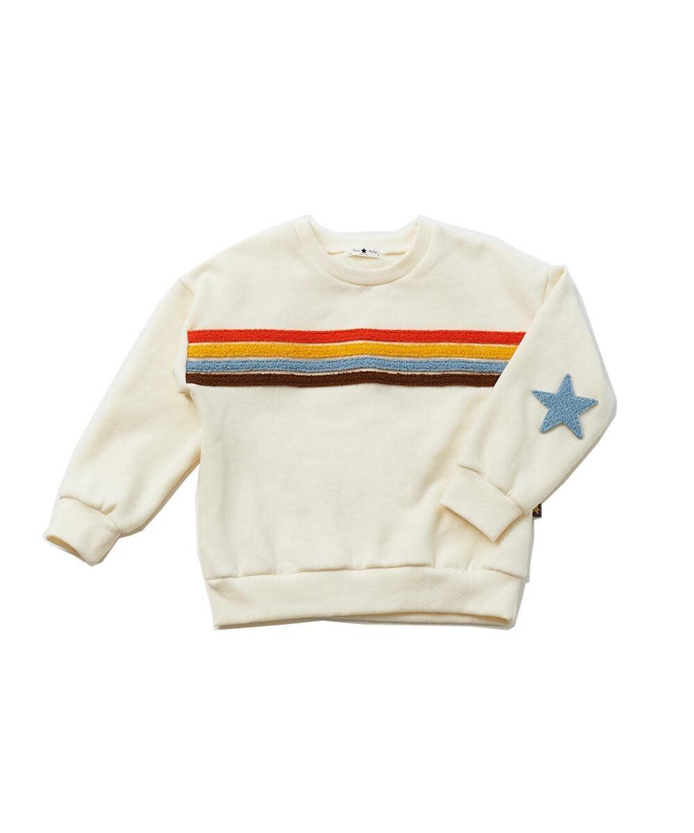 Petite Hailey Petite Hailey Rainbow Star Sweatshirt