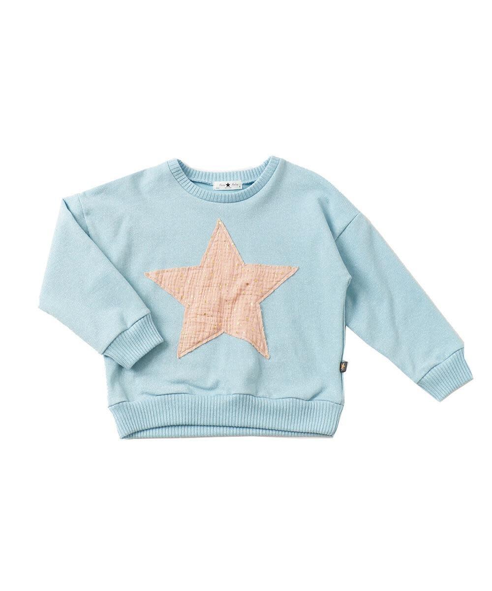 Petite Hailey Petite Hailey Star Glitter Sweatshirt *More Colors*