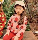 Petite Hailey Petite Hailey Strawberry Knit Sweater