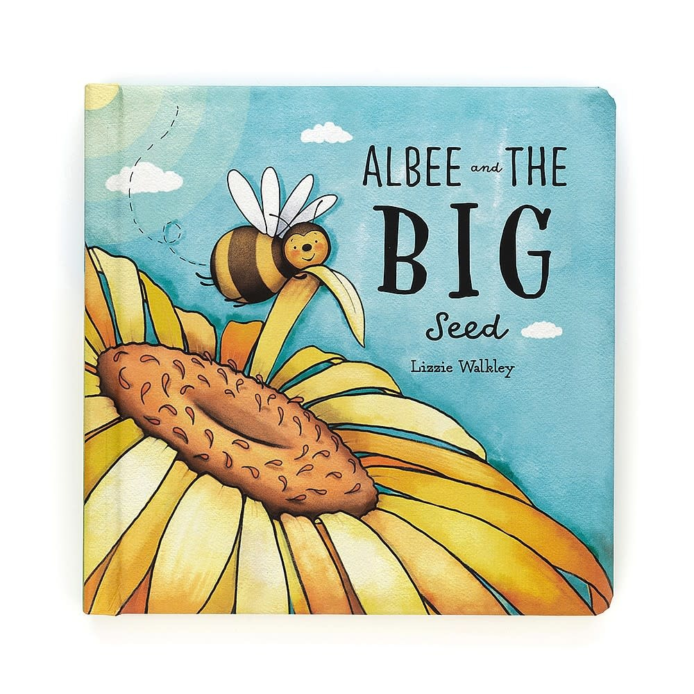 JellyCat JellyCat Albee And The Big Seed Book