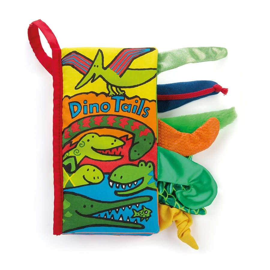 JellyCat JellyCat Dino Tails Book NEW