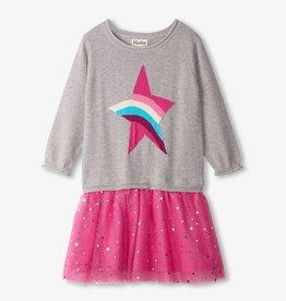 Hatley Hatley Rainbow Star Tulle Dress