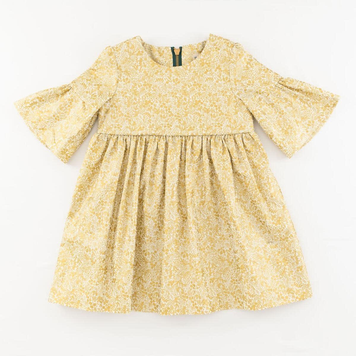 Thimble Thimble Party Dress in Golden Garden