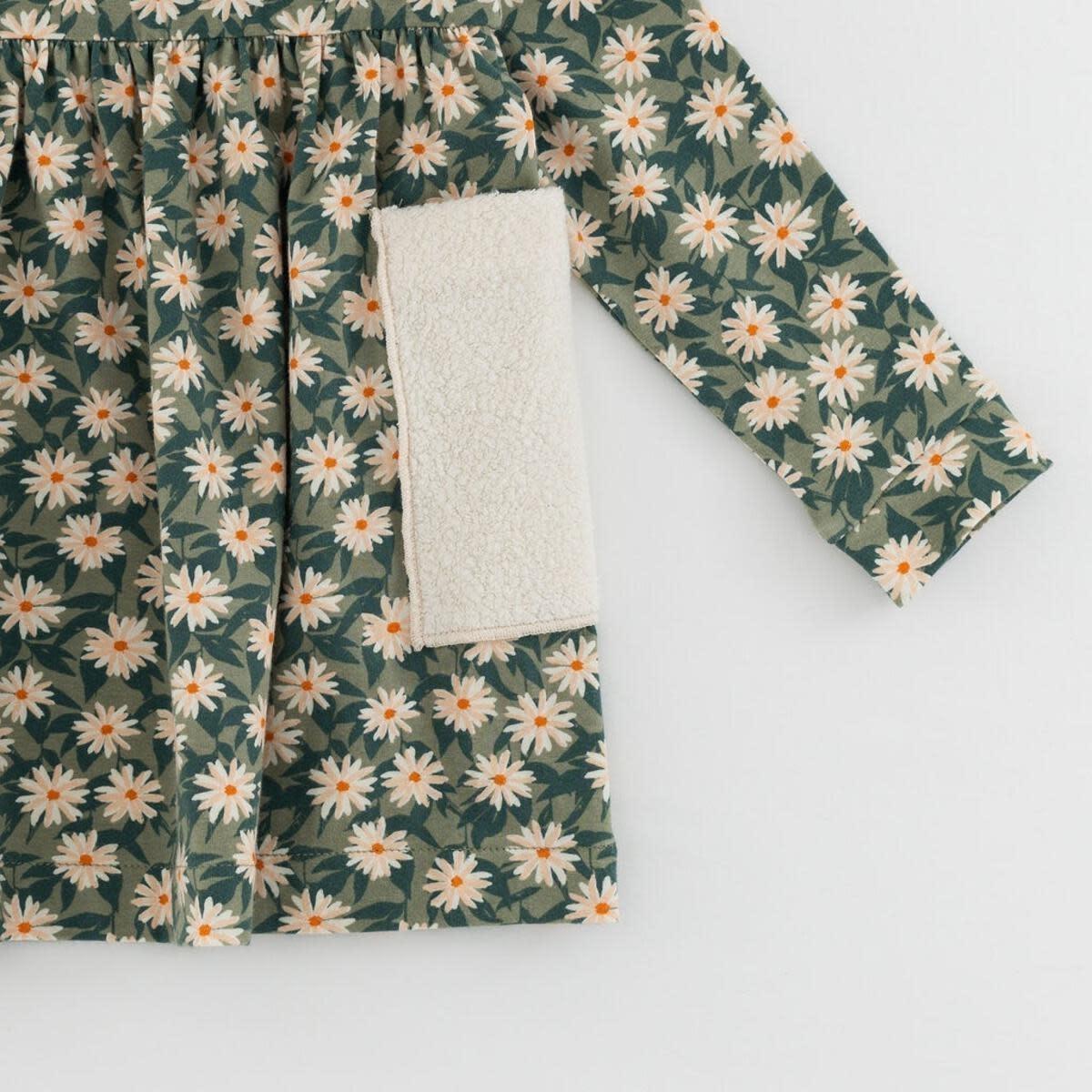 Thimble Thimble Playground Dress in Daisy