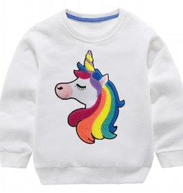 Lola & the Boys Lola & the Boys Happy Rainbow Unicorn Sweatshirt