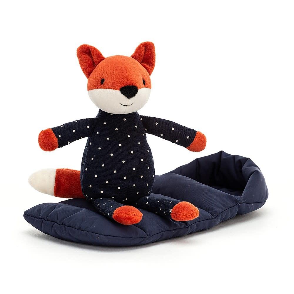 JellyCat JellyCat Sleeping Bag Snuggler Fox