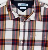 Mayoral Mayoral Long Sleeve Plaid Shirt