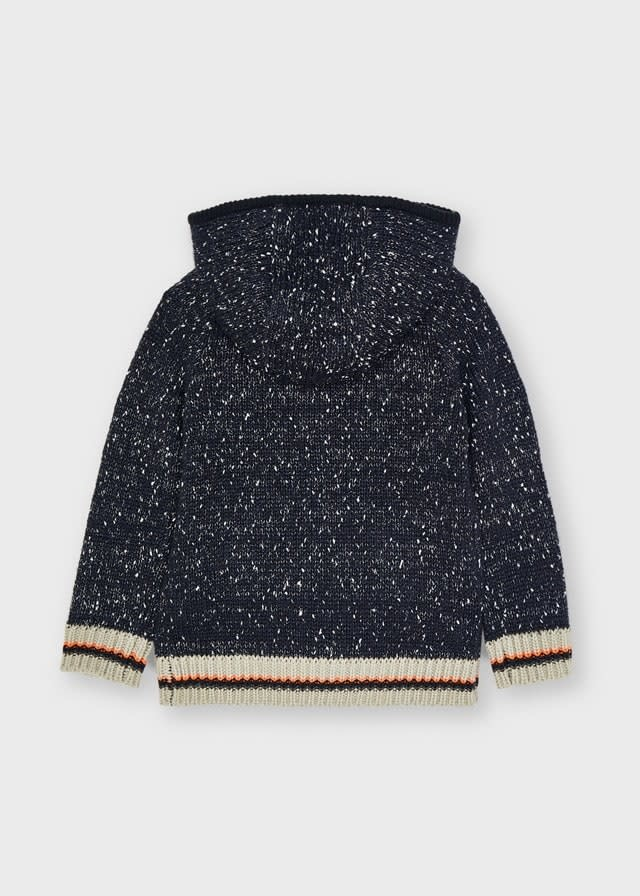 Mayoral Mayoral Knit Zip Sweater