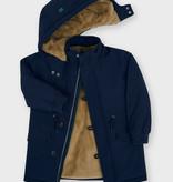 Mayoral Mayoral Faux Fur Parka Coat