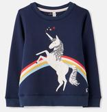 Joules Joules Mackenzie Unicorn Sweatshirt