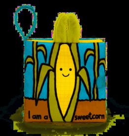 JellyCat JellyCat I am a Sweetcorn Book