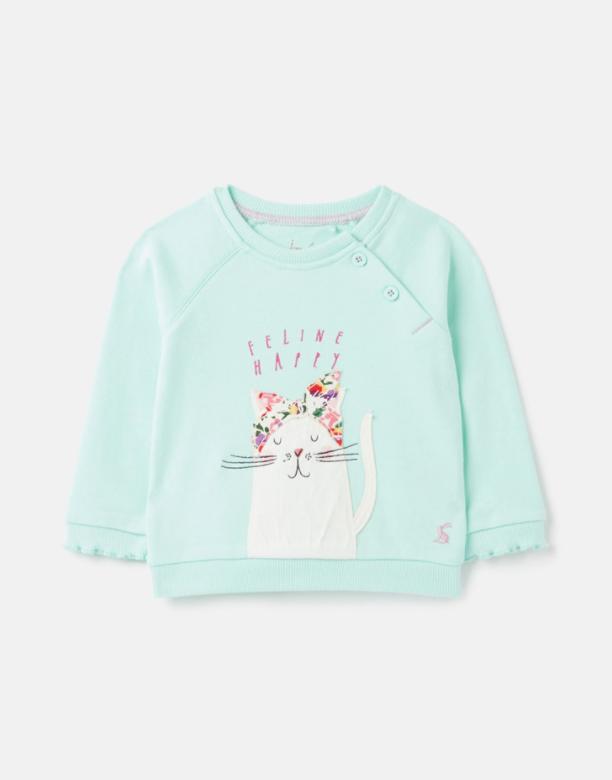 Joules Joules Luella Cat Sweatshirt