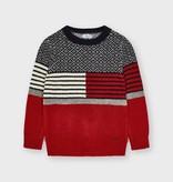 Mayoral Mayoral Block Sweater