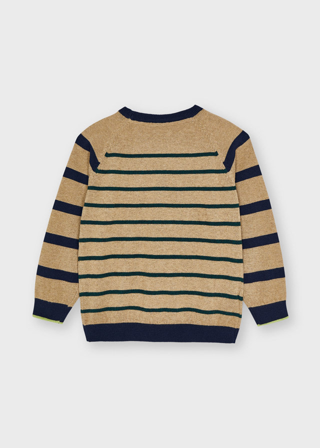 Mayoral Mayoral Striped Sweater