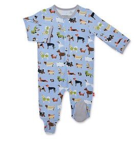 Magnificent Baby Magnetic Me In-dognito Modal Footie