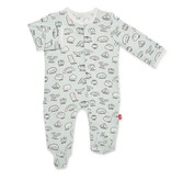 Magnificent Baby Magnetic Me Bun in a Million Modal Footie
