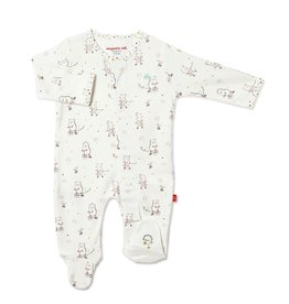 Magnificent Baby Magnetic Me Welcome Baby Organic Cotton Footie