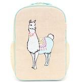 So Young  Groovy Llama Grade School Backpack