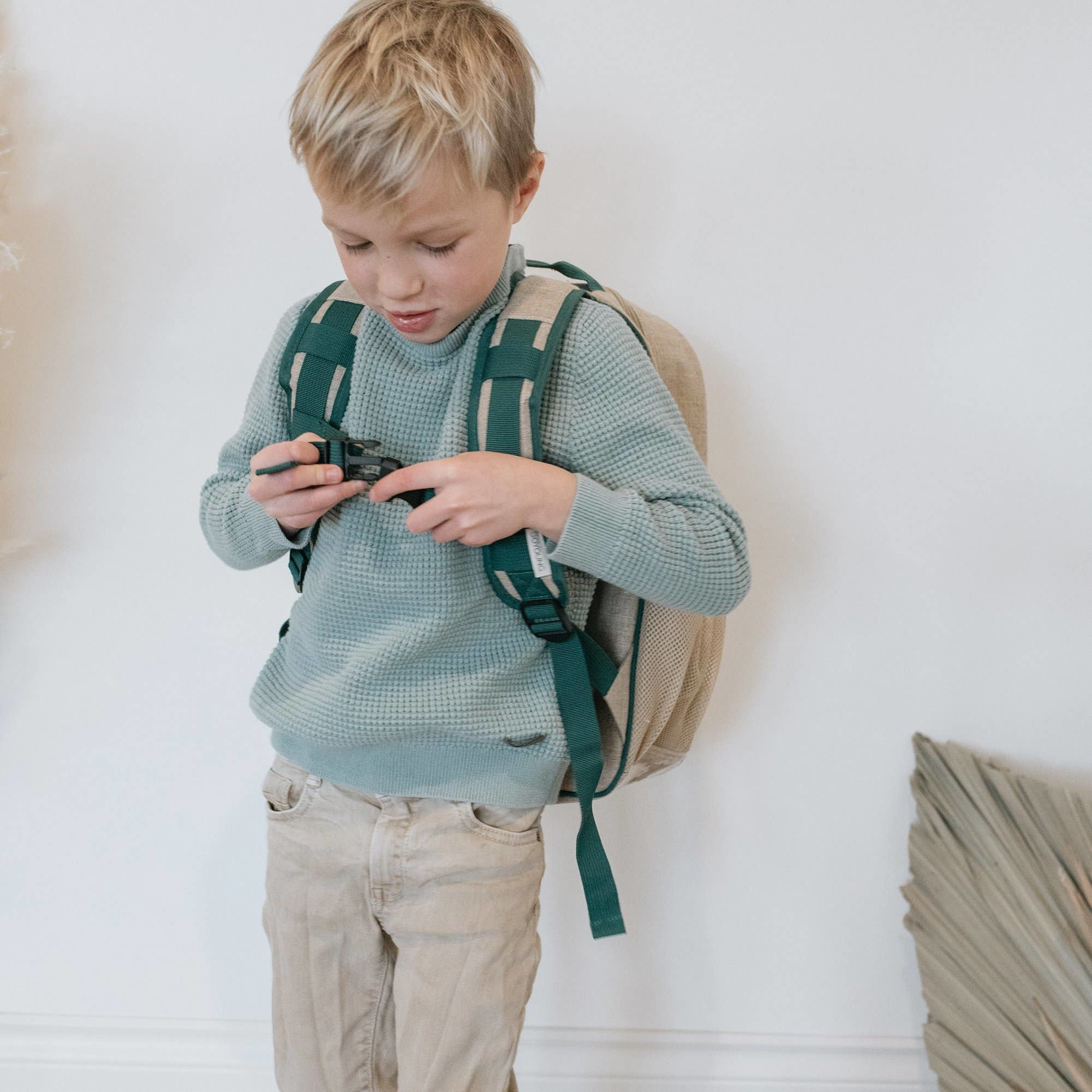So Young  Safari Friends Grade School Backpack