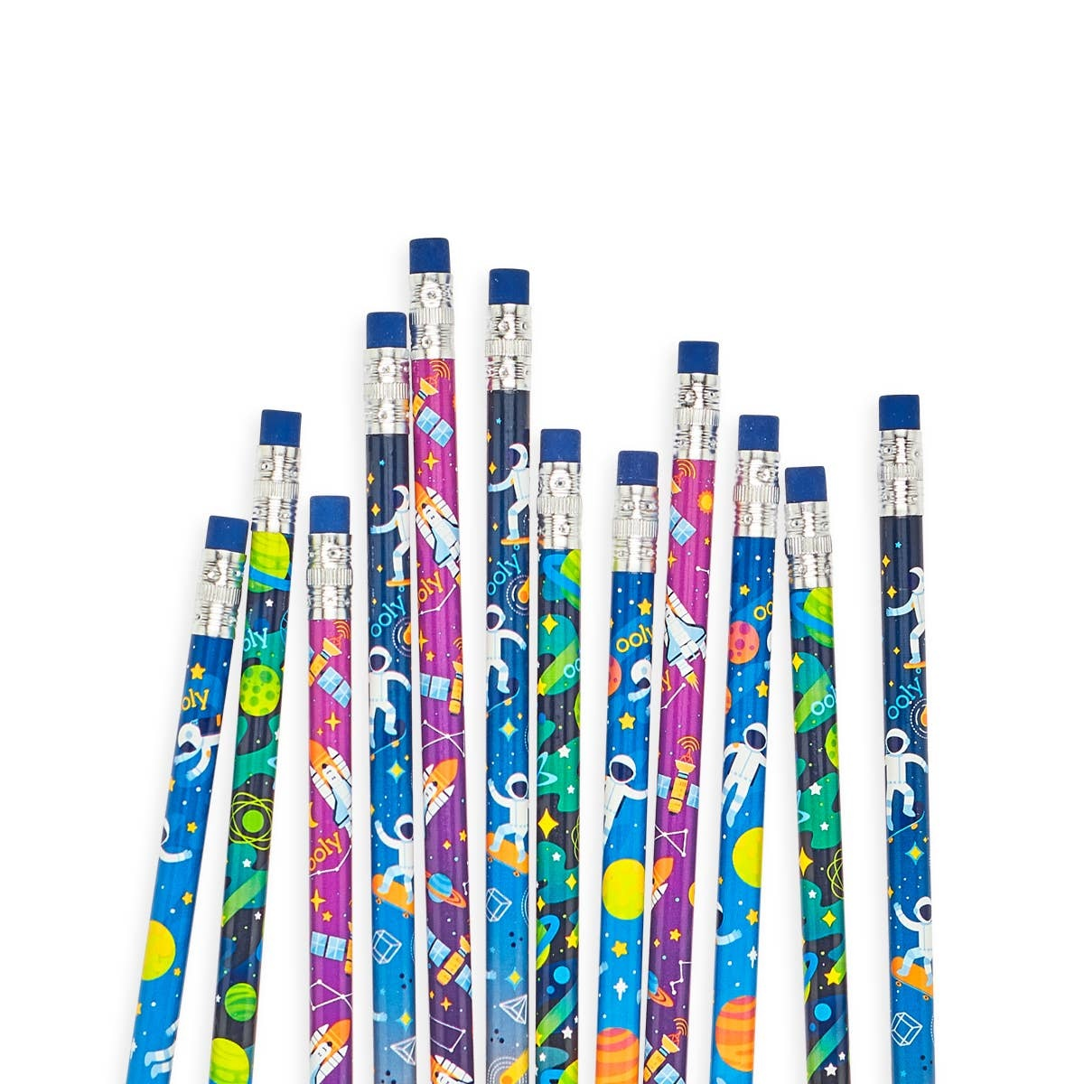 ooly Ooly Astronaut Graphite Pencils - Set of 12