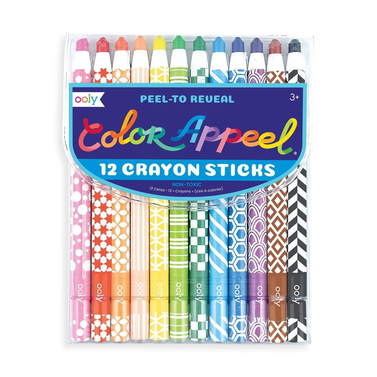 ooly Ooly Color Appeel Crayon Sticks