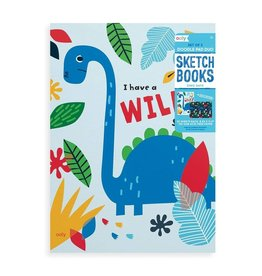 ooly Ooly Doodle Pad Duo Sketchbooks: Dino. Days - Set of 2